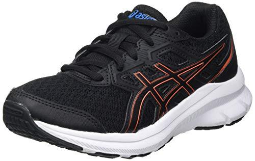 Asics Jolt 3 GS, Road Running Shoe, Black/Reborn Blue, 37.5 EU