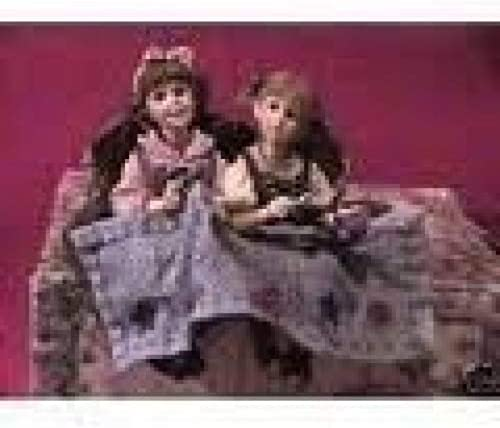 Boyds The Wee Flokstones Ann and Abby Angelstitch  36006