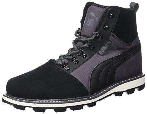 Puma Unisex-Erwachsene Tatau Fur Boot 2 Sneaker, Schwarz (Black-Asphalt), 43 EU