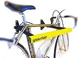 Candado y soporte antirrobo de pared para bicicletas bikeTRAP de alta seguridad. Guarda con...