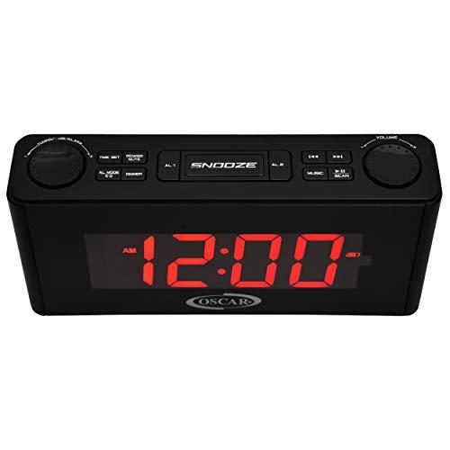 OSCAR OSC-135GDP 2.0 Portable Bluetooth Speaker With Clock, FM, USB Mode, Remote...