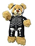 Skeleton Morph Suit Teddy Bear Clothes Fits Most 14'-18' Build-A-Bear and Make Your Own Stuffed Animals