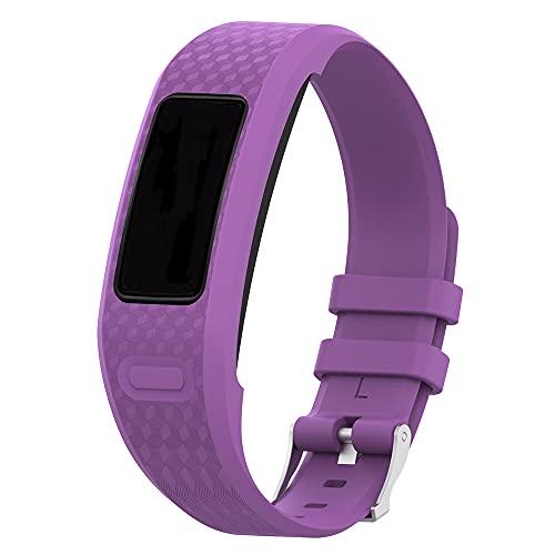 Compatible con Garmin Vivofit/Vivofit2, correa de silicona para Garmin Vivofit/Vivofit2 pulsera de fitness inalámbrica y rastreador de actividad, talla S/L, S,