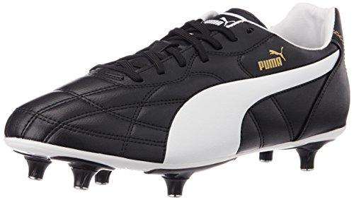 Puma Classico SG, Botas de fútbol para Hombre, Negro (Black-White Gold 01), 40.5 EU