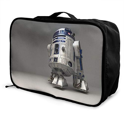 Star Robot R2 D2 Wars Travel Duffel Bag Waterproof Fashion Lightweight Large Capacity Portable Luggage Bags
