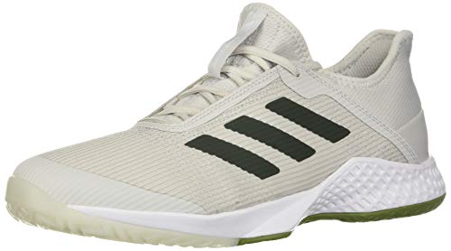 adidas Men's Adizero Club Football Shoe, Grey/Legend Earth/Tech Olive, 10 M US
