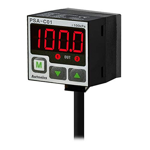 Amazing Deal Rein Industry Autonics PSA-C01-NPT1/8 Pressure Sensors Digital Display Type NPN