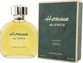 Homme De Gres By Parfums Gres For Men. Eau De Toilette Spray 4.2-Ounces
