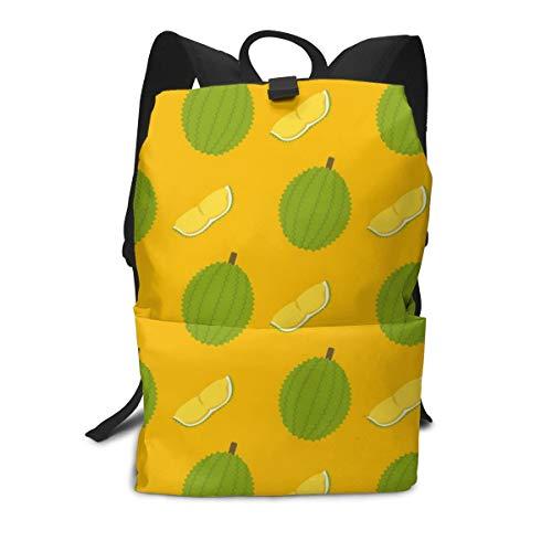 Iop 90p Durian und Schnittmuster Laptop Rucksack Reisetasche Daypack Schultern