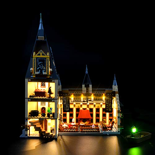 LIGHTAILING Licht-Set Für (Harry Potter Die große Halle von Hogwarts) Modell - LED Licht-Set Kompatibel Mit Lego 75954(Modell Nicht Enthalten)