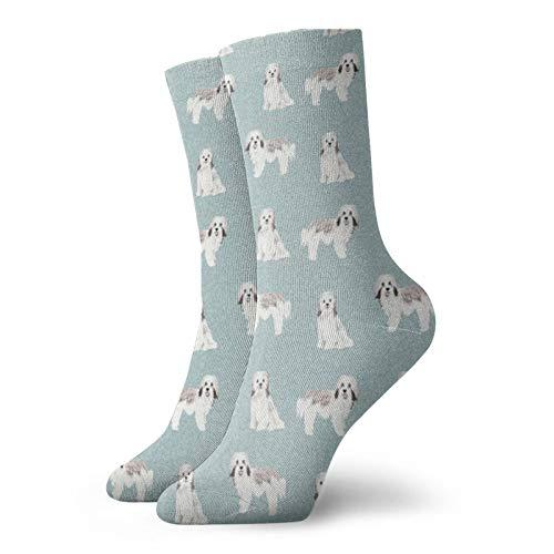 Colin-Design Havanese Dog Pet Cheater personalisierte Socken Sport Athletic Strümpfe 30 cm Crew Socken für Männer Frauen