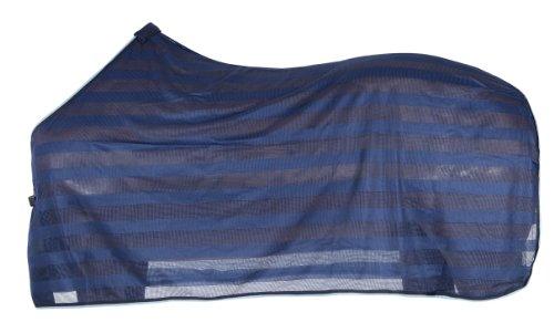 PFIFF 100490-20-165 - Manta/Sábana para Caballo, Color Azul, Talla 165 cm