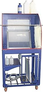Vertical Type Screen Printing Washout Tank 110V Backlighting Silk Screen Washing Booth