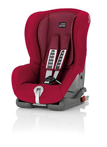 Britax Römer Kindersitz 9 Monate - 4 Jahre I 9 - 18 kg I DUO PLUS Autositz Gruppe 1 I Flame Red