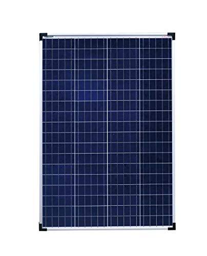 enjoysolar® Poly 100W 36V Polykristallin Solar panel 100Watt ideal für Wohnmobil, Gartenhäuse, Boot (