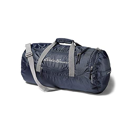Eddie Bauer Unisex-Adult Stowaway Packable 45L Duffel, Navy Regular ONE SIZE