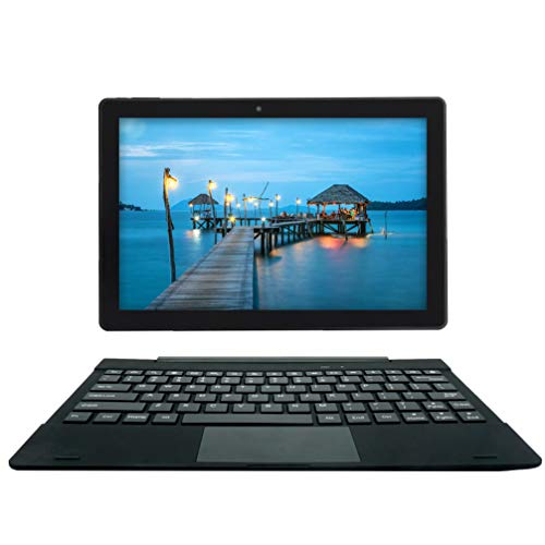 [3 Bonus Items] Simbans TangoTab 10 Inch Tablet and Keyboard 2-in-1 Laptop, 3 GB RAM, 64 GB Disk, Android 9 Pie, Mini-HDMI, Micro-USB, USB-A, Inbuilt GPS, Dual WiFi, Bluetooth Computer PC - TL93