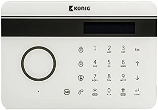 König Sas-Alarm300 - Teléfono fijo Iinalámbrico con sistema de alarma GSM