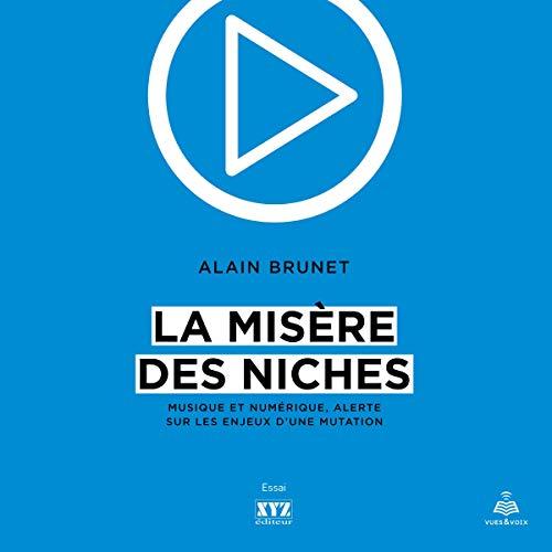 Page de couverture de La misère des niches: musique et numérique, alerte sur les enjeux d'une mutation