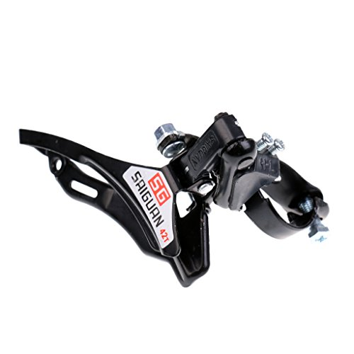 Jili Online Bicycle Front Derailleur 31.8mm Clamp Bottom/Top Pull Mountain Road Bike MTB - Bottom Pull Front Derailleur