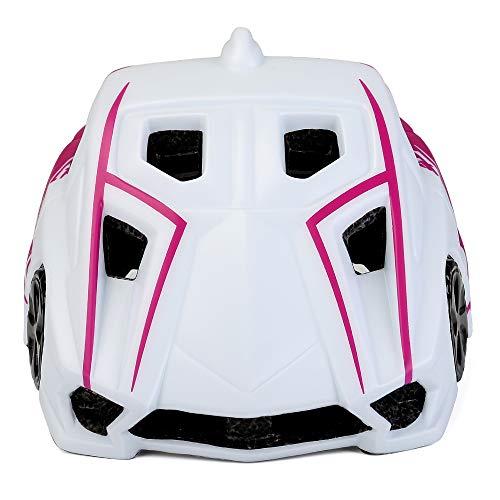 HBRT Niños bebés Bicicleta Casco, Seguridad Ajustable tamaño Multi-Deportes con luz LED...