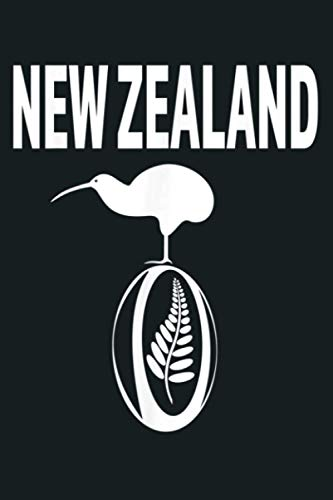 New Zealand Rugby Jersey New Zealand Football Gift: Notebook Planner - 6x9 inch Daily Planner Journal, To Do List Notebook, Daily Organizer, 114 Pages