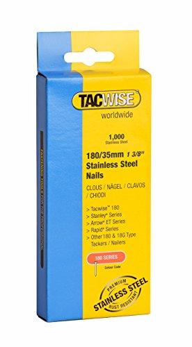 Tacwise 1068 Edelstahl-Nägel 180/35mm (1.000 Stück), 1000