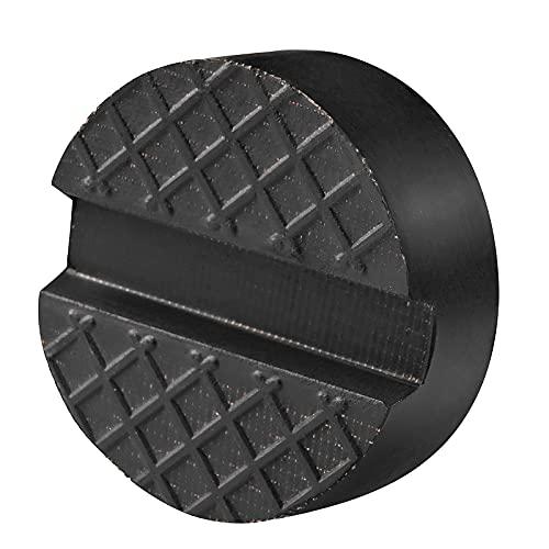 Firecore 05715 Jack Pad gummi med fiber slitsad ram 10-vinkel gummikudde för hjul Jack och lyfter mer stabilitet och support