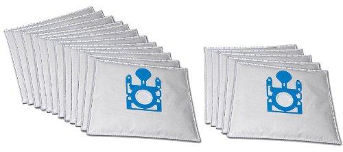 15 Premium Staubsaugerbeutel komaptibel für Bosch Siemens VZ41GPlus MegaFilt Typ G Supertex inkl. 3 Motorschutzfiltern