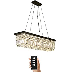 modern rectangular crystal chandelier cheap and stylish lighting