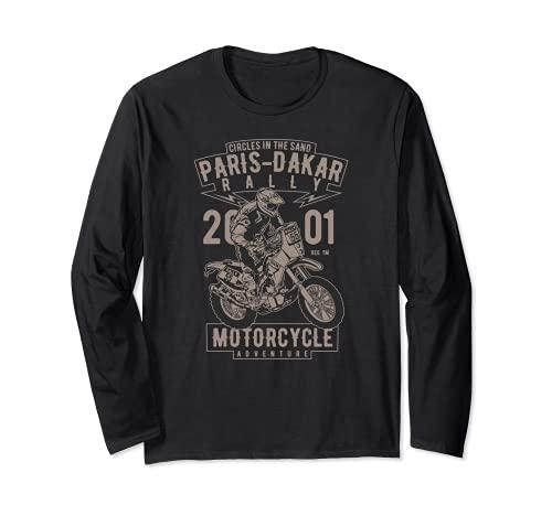 Rally de Aventura en Motocicleta Off-Road Paris-Dakar Manga Larga