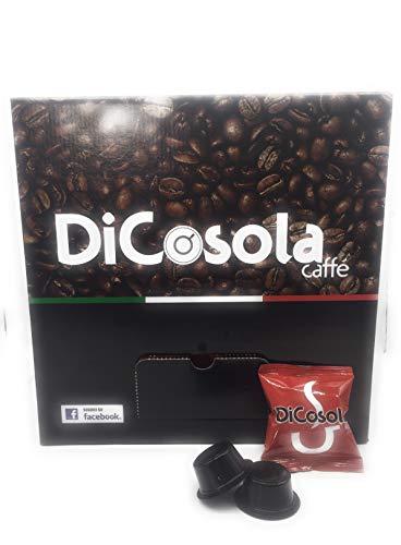DiCosola Caff蠃apsule Compatibili Lavazza Firma, Rosso Cremoso - 100 Pezzi