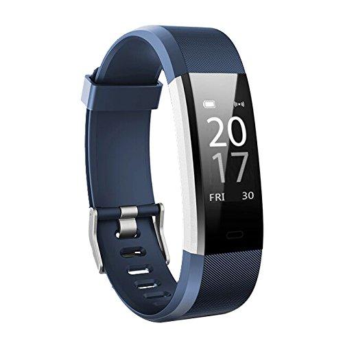 Toksum Boost 2® Fitness Activity Tracker Smart Polsband | Draagbare Stappenteller Horloge Armband met Slaap & Hartslagmeter & GPS | Voor Kinderen, Vrouwen en Mannen | Voor iPhone & Android