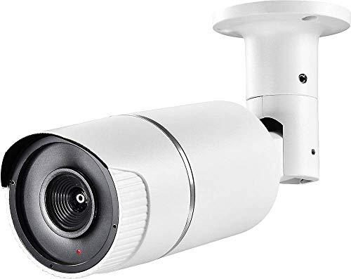 Indexa GmbH Kameraattrappe in Rohrform groß, Alu, Außenmontage, mit Blinklicht
