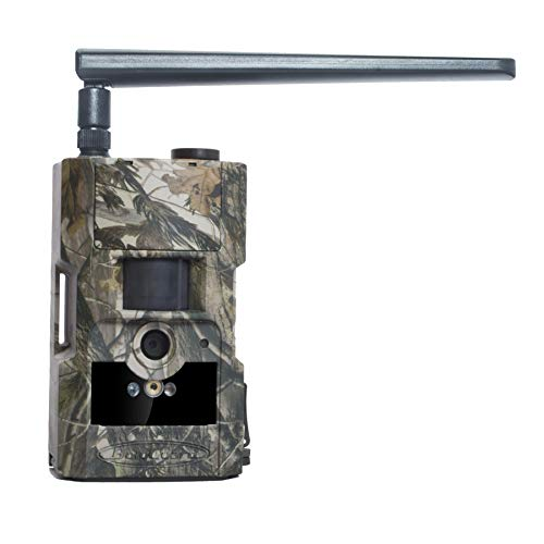 BolyGuard Wildlife Trail Camera 4G Cellular with Night Vision Motion Activated 24MP 1080P Hunting Game Camera Infrared CAM MMS GPRS to Email Mobile Phone 90ft/27m Detection Waterproof