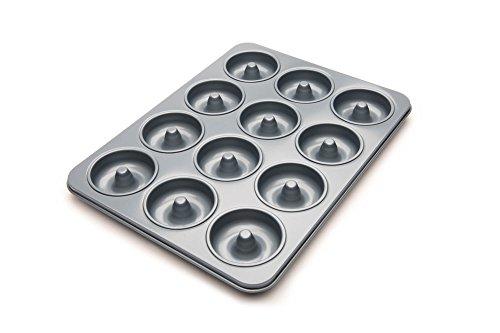 Fox Run Non-Stick Mini Donut Pan, 12-Cavity