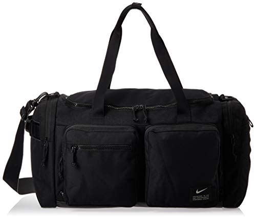 Nike Men's NK UTILITY M POWER DUFF Gym Bag, Black/Black/(Enigma Stone), MISC