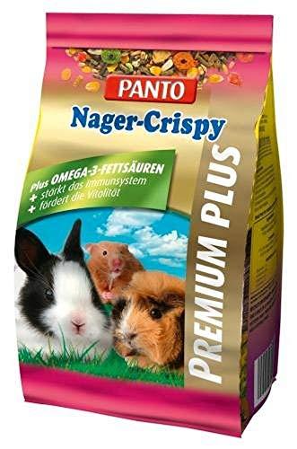 Panto Nagerfutter, Nager Crispy 600 g, 5er Pack (5 x 600 g)