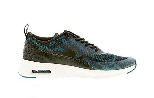 Nike Air MAX THEA KJCRD Zapatillas Sneakers Verde para Mujer
