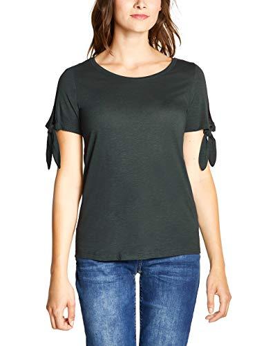 CECIL Damen 313756 T-Shirt, Grün (slate green 11687), X-Large (Herstellergröße:XL)