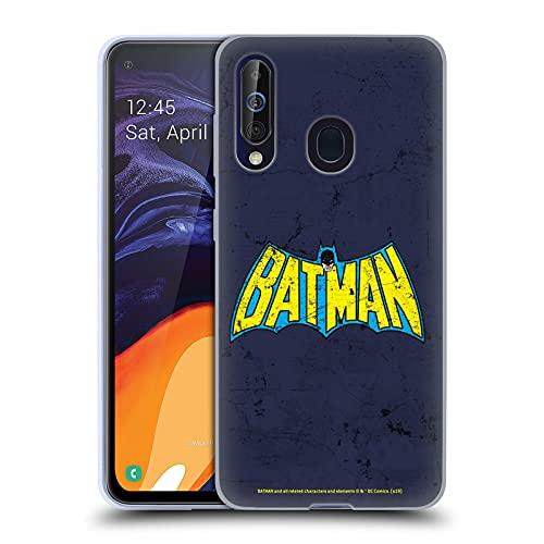 Head Case Designs sous Licence Officielle Batman DC Comics Classique en Look Affligé Logos Coque en Gel Doux Compatible avec Samsung Galaxy A60 / M40 2019