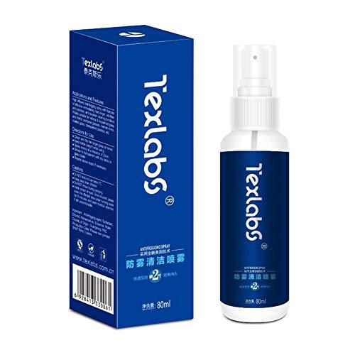 Yunt-11 Spray antivaho, Jaws Quick Spit Spray antivaho para Viseras Gafas Cristal Gafas de Seguridad Máscaras de Buceo para Esquiar