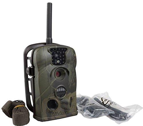 Fototrappola LTL ACORN 5210MG 5210 MMS SMS Invio Foto via MMS o E-Mail Hunting Scouting Trial Camera Telecamera a Batteria Lunga Durata 6 Mesi con Led Infrarossi 940nm Invisibili Occhio Umano