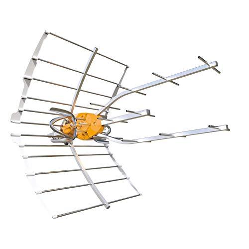 Antena TDT Ellipse LTE 5G (C21-48) 38dB + Alimentación