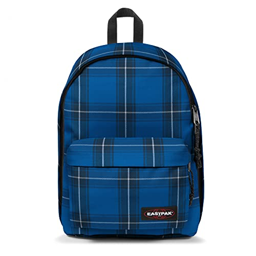 Eastpak Out of Office Rucksack, 44 cm, 27 L, Checked Blue (Blau)