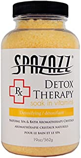 Spazazz SPZ-604 RX Therapy Crystals Container Bath Minerals, 19-Ounce, Detox Therapy Detoxifying