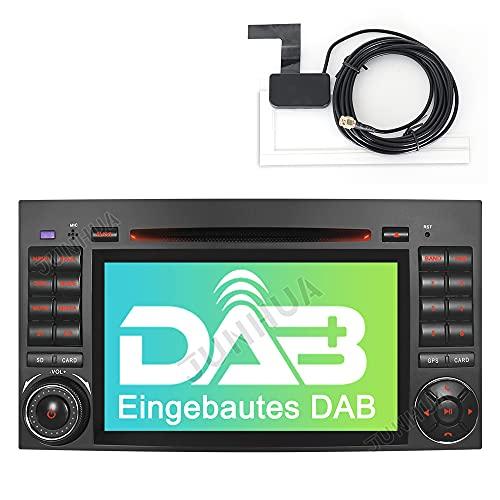 "Built-in DAB+ Autolink 7\"" Autoradio DVD GPS Navigation USB SD Bluetooth CD Moniceiver Naviceiver CANBUS Dual Zone für Mercedes Benz A/B Klasse Sprinter Vito 2011-2018 Viano (Radio)"