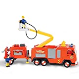Smoby - Sam Le Pompier-Camion Jupiter Remorque Et Figurines