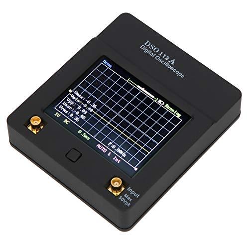 Changor Osciloscopio Digital portátil, 2MHz Siglent Technologies Batería de Litio 1200mAh Plástico Hecho 0~2MHz