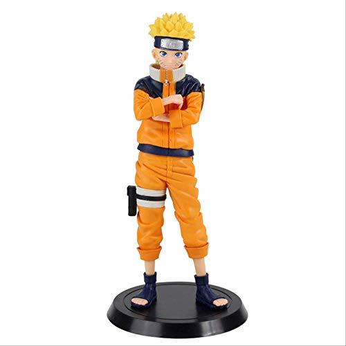 FLYTYSD Figura De Anime Naruto Shippuden Uzumaki Naruto Cos Monkey King Boruto Sasuke Uchiha PVC Figura De Acción Modelo Juguetes Regalos Bolso de OPP de 26cm